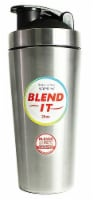 New Wave Enviro  Stainless Steel 25 oz Shaker Bottle w/Blender Cap