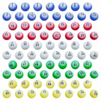 1.5in Replacement Set of Professional Bingo Balls