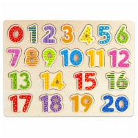 Professor Poplar's Wooden Numbers Puzzle Board