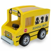 Wooden Wheels School Bus