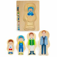 Gregory Grows Up Layered Jigsaw Puzzle