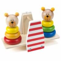 Balancing Bears Stacking See-Saw