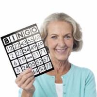 EZ Readers Jumbo Bingo Cards, Pack of 25 - 1 each