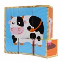 Barnyard Animal Block Puzzles
