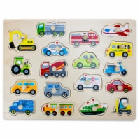 Jumbo People Movers Peg Puzzle