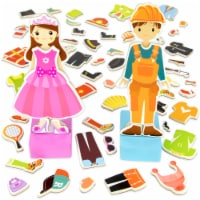 Zoey & Joey Magnetic Dress-up Playset - 1 each