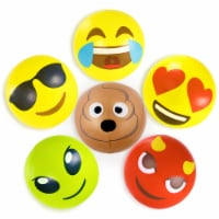 18' Emoji Beach Bums, 6-pack