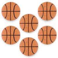 "6 Mini Basketballs, 2.5"" - 1 each"