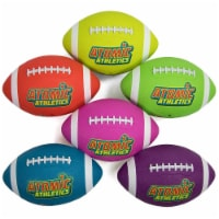 Brybelly SBAL-412 6 Youth Size Neon Footballs - 1