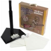 Brybelly SBBL-401 Batters Box Take & Play Baseball Set - 1