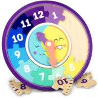 Day and Night Teaching Clock