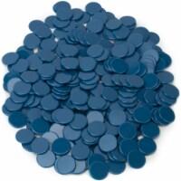 Solid Blue Bingo Chips, 300-pack