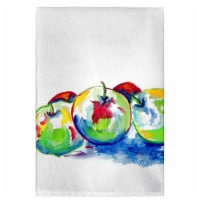 Betsy Drake GT818 Three Apples Guest Towel
