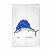 Betsy Drake KT006 Sailfish Kitchen Towel