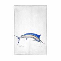 Betsy Drake KT015 Blue Marlin Kitchen Towel