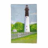 Betsy Drake KT730 Huntington Island Lighthouse Kitchen Towel - 1