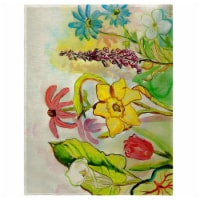 Betsy Drake PM060 14 x 18 in. Betsys Garden Place Mat - Set of 4