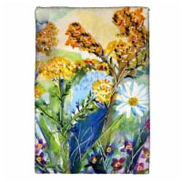 Betsy Drake KT166 16 x 25 in. Wild Flowers Kitchen Towel - 1