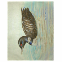 Betsy Drake PM130 14 x 18 in. Loon Place Mat - Set of 4