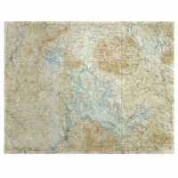 Betsy Drake PM968 14 x 18 in. Winnipesaukee, NH Nautical Map Place Mat - Set of 4