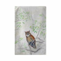 Betsy Drake KT714 16 x 25 in. Great Horned Owl Kitchen Towel - 1