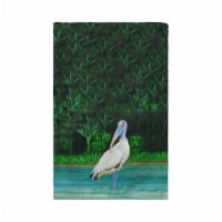 Betsy Drake KT738 16 x 25 in. Dicks Wood Stork Kitchen Towel - 1