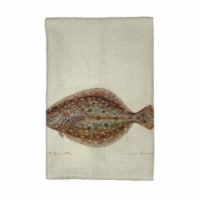Betsy Drake KT014 Flounder Kitchen Towel