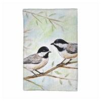 Betsy Drake KT638 Dicks Chickadees Kitchen Towel - 1