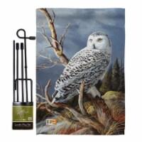 Breeze Decor BD-BI-GS-105051-IP-BO-D-US16-AL 13 x 18.5 in. Superior Vantage Owl Garden Friend - 1
