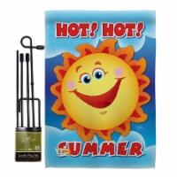 Breeze Decor BD-SU-GS-106055-IP-BO-D-IM09-BD 13 x 18.5 in. Hot Summer Fun in the Sun Impressi - 1