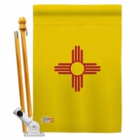 Americana Home & Garden AA-SS-HS-140532-IP-BO-D-US18-AG 28 x 40 in. New Mexico States Impress - 1