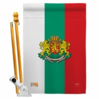 Breeze Decor BD-CY-HS-108204-IP-BO-D-US14-BD 28 x 40 in. Bulgaria Flags of the World National - 1