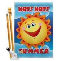 Breeze Decor BD-SU-HS-106055-IP-BO-D-IM09-BD 28 x 40 in. Hot Summer Fun in the Sun Impression - 1