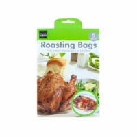 Kole Imports HX454-24 15 x 9.75 in. Roasting Bags, 5 Piece - Pack of 24