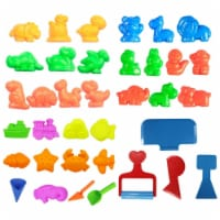 Deluxe Beach Sand Mold & Tools Play Set