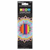 8 Fluorescent Color Pencil, Case of 24