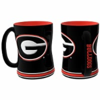Georgia Bulldogs Coffee Mug - 14oz Sculpted Relief