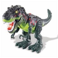 Walking T-Rex Dinosaur Toy, Green - 1