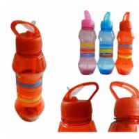 Plastic Water Bottle - Assorted Color, Case of 12