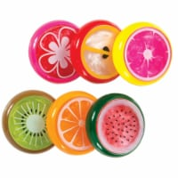 2.5 in. Dia. Fruit Slices Putty 6 - 24 Count - Case of 24 - 1