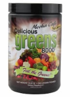 Greens World Inc.  Delicious Greens 8000   Mocha Cafe