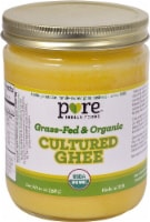 Pure Indian Foods Grass-Fed & Organic Cultured Ghee