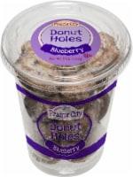 Prairie City Blueberry Donut Holes, 5 Ounce -- 12 per case.