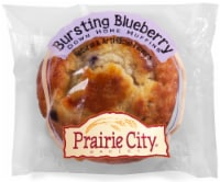 Prairie City Bakery Individually Wrapped Bursting Blueberry Down Home Muffin, 4.5 oz - 48  CS