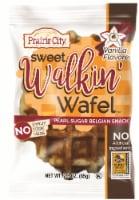 Prairie City Bakery Individually Wrapped Vanilla Walkin Wafel, 2.3 Ounce -- 36 per case.