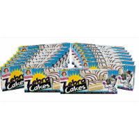 Zebra Cakes, 16 Boxes, 80 Twin-Wrapped Yellow Cakes with Crème Filling and White Icing - 120