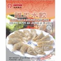 O'Tasty Vegetable & Chicken Dumplings