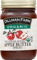 Dillman Farm Organic No Sugar Added Apple Butter Spread - 13 oz