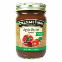 Dillman Farm 80161 No Sugar Added All Natural Apple Butter Spread - pack of 6 - 6