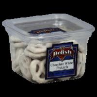 It's Delish White Chocolate Pretzels - 6 oz